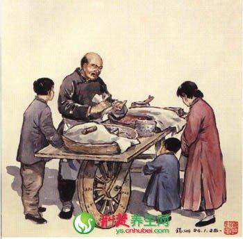 逝去的北京小吃 芸豆饼