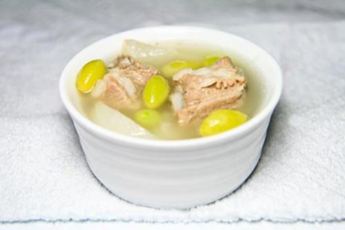 白果排骨汤有什么功效