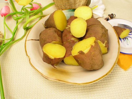 秋季狂减赘肉   红薯清肠餐