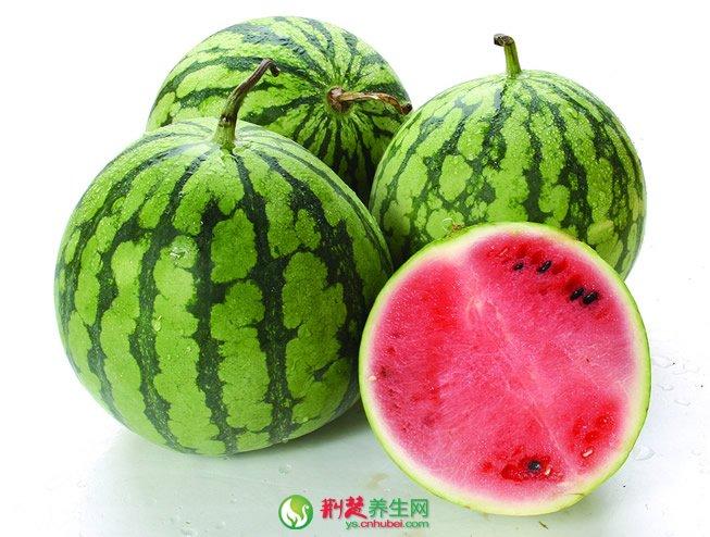 吃西瓜可充当天然水润防晒霜