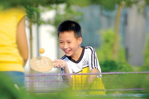 打乒乓球的正确握拍法